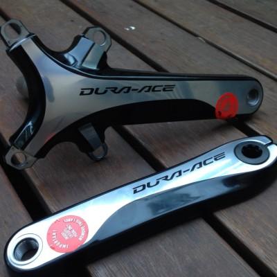 Shimano Dura Ace FC-9000 Hollowtech II cranks, 172.5mm