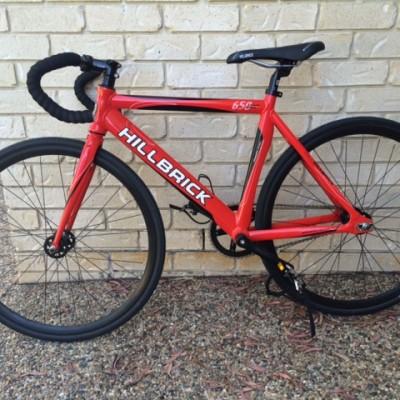 Red 650 Hillbrick Track Bike - FOR SALE