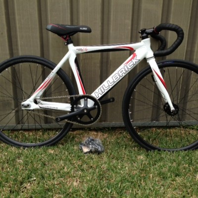 "24"" KIDS HILLBRICK TRACK/SINGLESPEED ROAD BIKE"