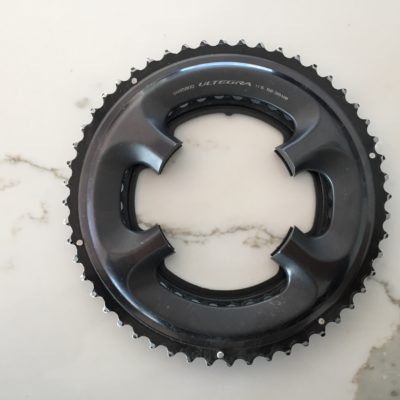 Shimano Ultegra 6800 52-36 chainrings w/ bolts