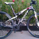 Scott Spark 29er carbon dual suspension mountain bike