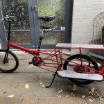 Bike Friday Hauladay Utility Cargo bike, shopping, kids carries anything