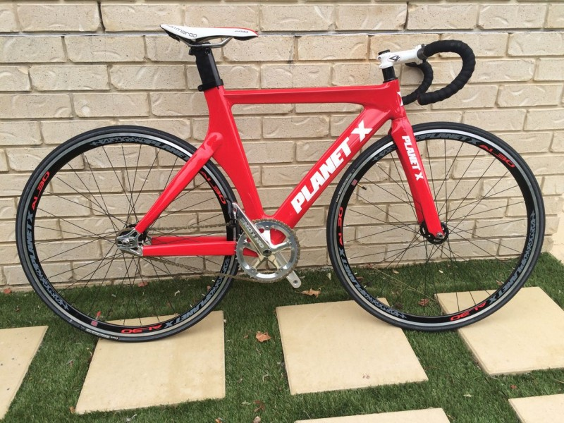 Planet X Franko Bianco Carbon Track Bike 2013 – Canberra – ACT ...