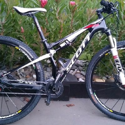 Scott Spark 29er carbon dual suspension mountain bike