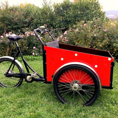 Christiania Cargo Bike for carrying kids